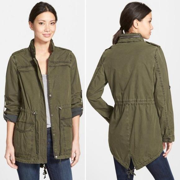 9dfc5195ffa Levi's Lightweight Cotton Hooded Utility Jacket, L